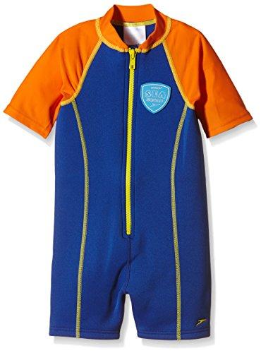 Speedo Jungen Schutzkleidung Seasquad Hot Tot Suit Uv Schutzbekleidung, New Surf/Salso, 98