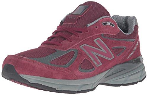 New Balance Men's M990BU4 Running Shoe,Burgundy,12 D US