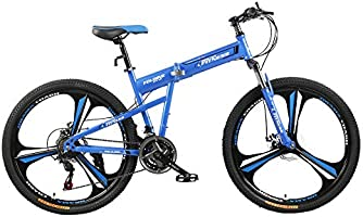 Fitness Minutes Folding Bike, Blue, FM-F26-03M-BL