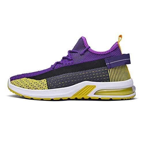 Magnifier Zapatos para Caminar para Mujer, Tenis para Correr Entrenamiento Informal Entrenamiento Zapatos Gimnasia Zapatos Deportivos para Trabajo Zapatillas Deportivas Ligeras y Transpirables,A,36