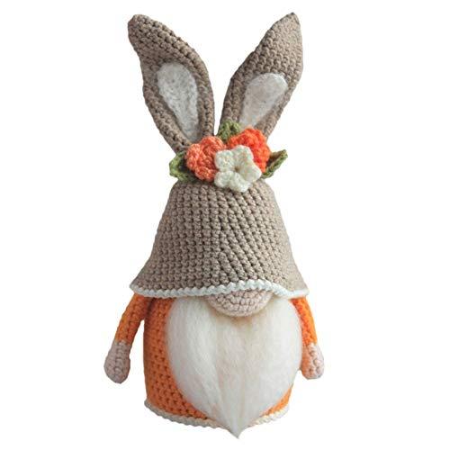 Goosuny Ostern Puppe Osternwichtel, Schwedische Wichtel Figuren, Osterhasen Festliche GNOME Plüsch Gesichtslose Plüschpuppe Dolls Süße Home Party Dekoration Geschenk Figur
