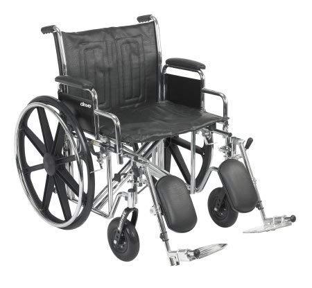 """24"""" Bariatric Wheelchair,..."""