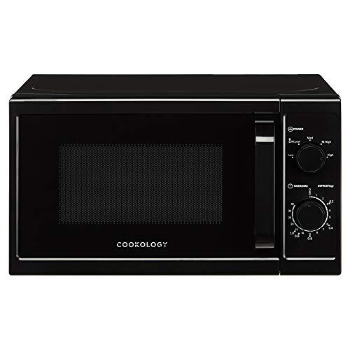 Cookology Microwave, 800W Freestanding, 20 Litre Capacity, 25cm Turntable (Black)