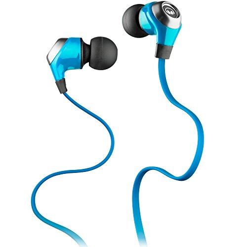 Monster N-Lite - Auriculares in-Ear, Color Azul