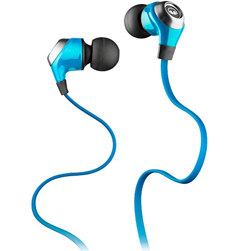 Monster N-Lite - Auriculares in-Ear, Color Azul
