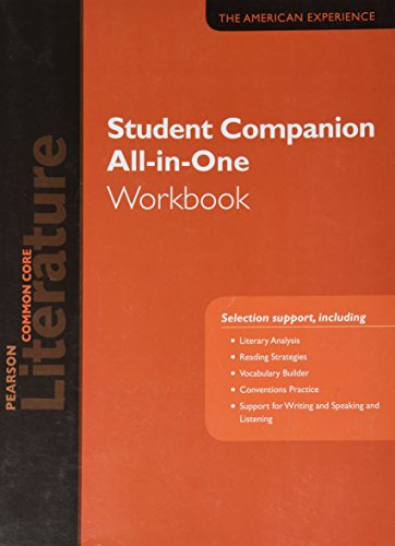 PN LITERATURE 2015 COMMON CORE STUDENT COMPANION ALL-IN-ONE WORKBOOK    GRADE 11