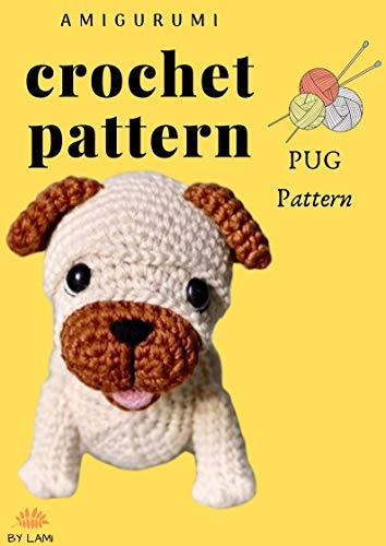 Pug Dog Amigurumi - Free Crochet Pattern - StringyDingDing   500x354