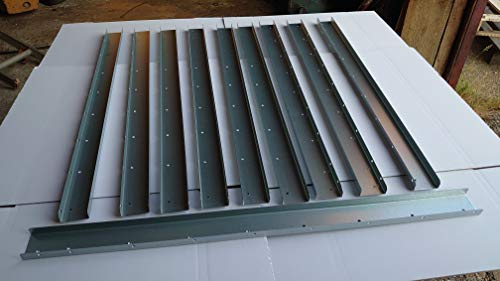 Postfix 5 PAIRS 795mm Long Trellis Fence Height Extension Arms - NO TRELLIS INCLUDED!