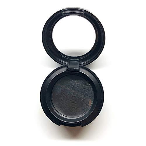 MB-LANHUA Forme ronde Vide Étui à rouge à lèvres Fard à paupières Étui à rabat Poudre pressée Pigment Blusher Rouge à lèvres Boîte d'emballage Boîte de maquillage cosmétique avec couvercle transparent