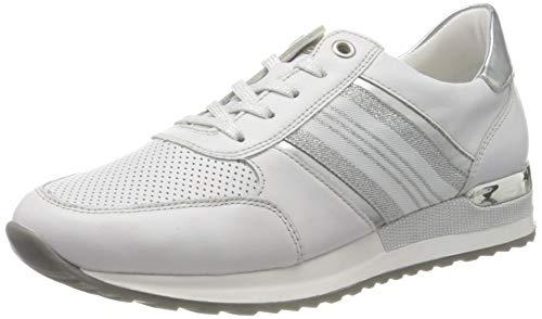Remonte Damen R2510 Sneaker, Weiß (Hartweiss/Argento 80), 43 EU