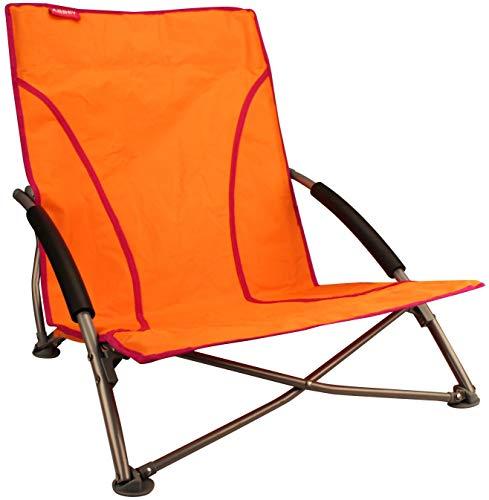 SCHREUDERS SPORT Abbey Camp Chaise de Plage, Mixte, Abbey Camp, Orange/Fuchsia, Taille Unique