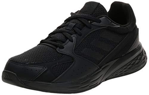 adidas Response Run, Road Running Shoe Hombre, Core Black/Core Black/Core Black, 44 EU