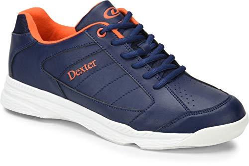 DEXTER Ricky IV Bowling Schuhe für Einsteiger und Profis Größe 38-47 in 3 (Blau/Orange, 39)