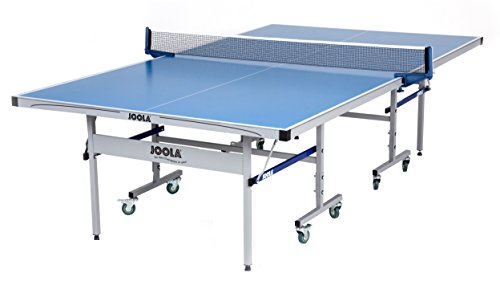 JOOLA NOVA - Outdoor Table Tennis Table with Waterproof Net Set - 10 Minute Easy Assembly - All Weather Aluminum Composite Outdoor Ping Pong Table - Tournament Quality - Indoor & Outdoor Compatible, NOVA Pro Plus Outdoor