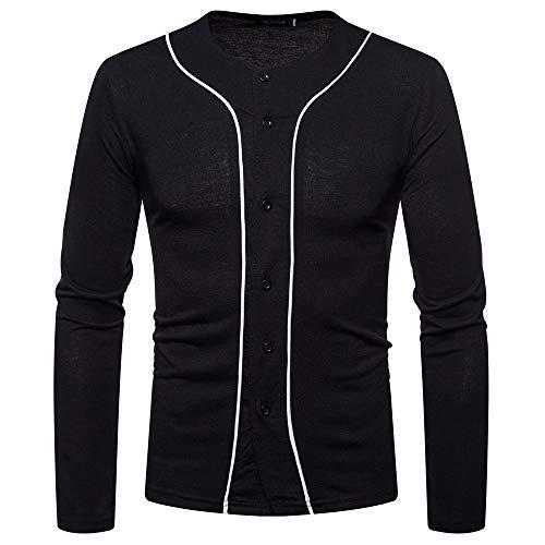 ZYUD Basic Baseballjacken Herren jacken Kapuzenjacke Sweatjacke Pullover Sweatshirt...