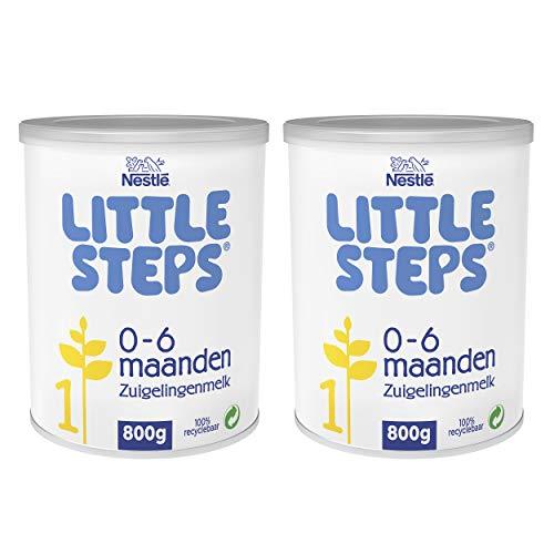 Little Steps Standaard 1 flesvoeding - babyvoeding - tot 6 maanden - 2 x 800 gram