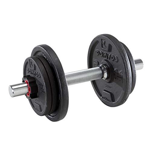 Ffshop Mancuernas Montado Classic Muscle la Pesa 10 kg Par Dumbbell Ejercicio de Brazo Brazo Deporte