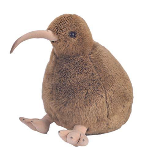 Phayee Kiwi Vogel pluche dier, knuffeldier kiwi 10 cm, knuffeldier knuffeldier dieren kinderspeelgoed cadeau