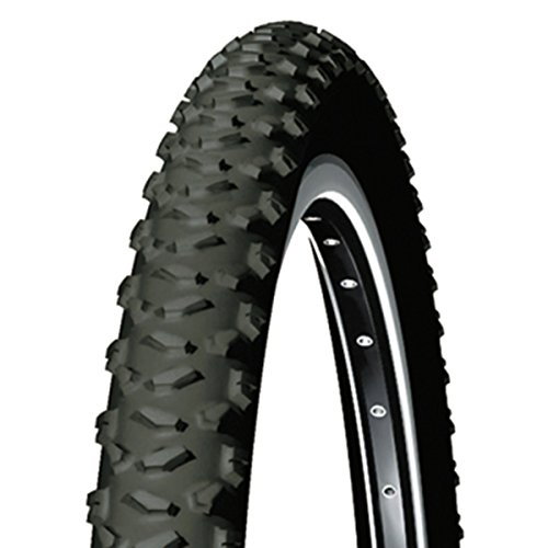 Michelin 131404  Cubierta, Country Cross, Negro, 26x1.95