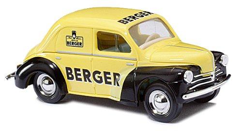 Busch Voitures - BUV46514 - Modélisme Ferroviaire - Renault 4CV - Berger