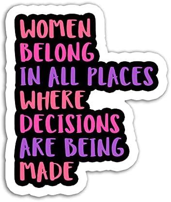 Women Very popular Belong Sticker Sayings St RBG Stickers Waterbottle Attention brand