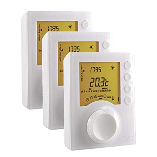 Delta Dore Tybox 117 - PACK - Termostato programable filiar calefacción