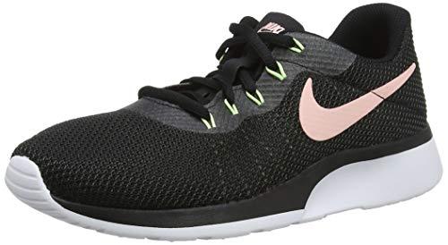 Nike Damen Sneaker Tanjun Racer, Scarpe da Ginnastica Basse Donna, Nero (Black/Storm Pink-Anthracite-Ba 009), 38 EU