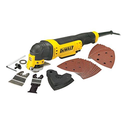 DeWalt DWE315-QS Osz. Multi-tool 300 watt, W, 230 V, zwart, geel