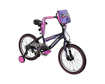 "Vertical Mysterious 18"" Bike with Removable Training Wheels from Dynacraft"