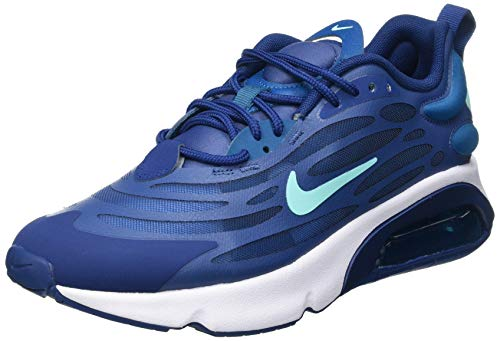 Nike Air MAX EXOSENSE, Zapatillas para Correr Hombre, Mystic Navy Bleached Turq Coastal Blue Green Abyss White Leche Blue, 43 EU