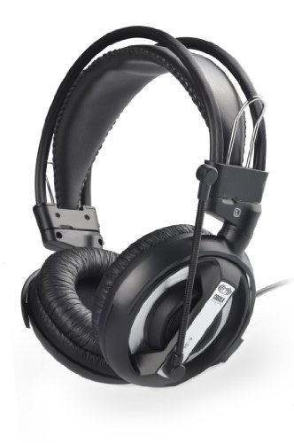 E-3LUE 007 COBRA Series EHH007OG Professional Gaming Headset with a High Sensitivity Rubber Microphone(Black)