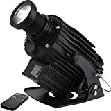 HILITING LED Logo Gobo Projector IP65 Waterproof with Manual Zoom DJ Effect Light Includin...