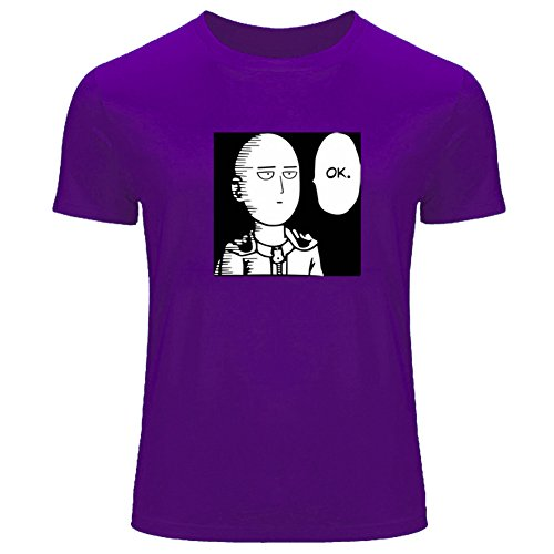 One Punch Man Saitama OK For Men's T-shirt Tee Outlet