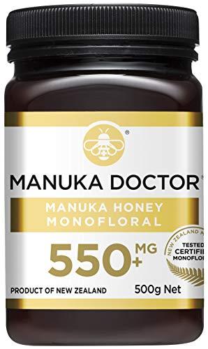 Manuka Doctor マヌカハニー MGO550+ ニュージーランド産 MANUKA HONEY100% 国内正規品 (500g)