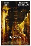 Seven - Brad Pitt – Film Poster Plakat Drucken Bild –