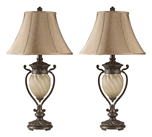 Hot Sale Ashley L531914 Gavivi Table Lamp, 2-Pack