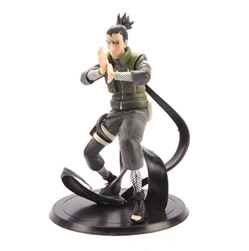 Yangzou Naruto 16 Cm Nara Shikamaru Shadow PVC Figura De Acción Sasuke Recoger Modelo Muñeca Juguetes Niños Regalos Decoración De Escritorio