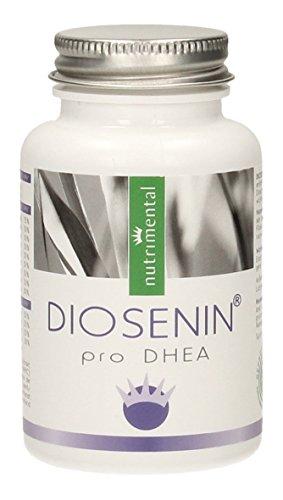 DIOSENIN pro DHEA - Wild Yams Extrakt - Yamswurzel - DHEA Komplex - 60 Kapseln