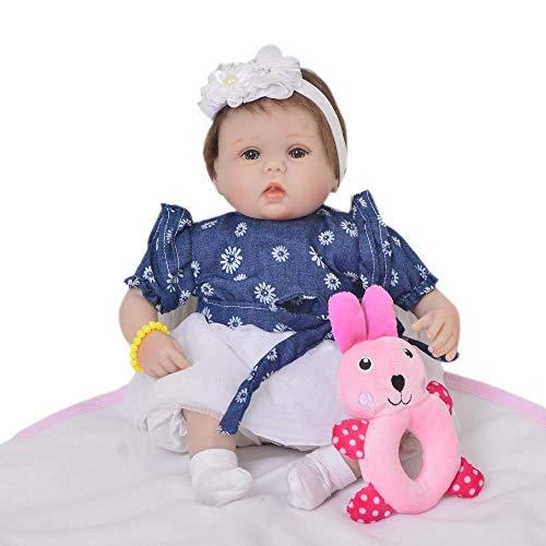 Foraging hamster Stilvoll und Schön 43cm Breit Kieselgel-Simulation Mädchen Spielzeug Ornamente (Farbe : Blue)