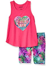 Juicy Couture Girls' 2 Pieces Shorts Set