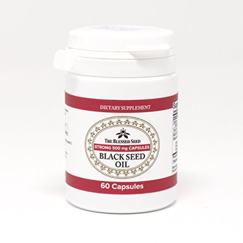 Black seed oil STRONG CAPSULES, 60 x 500 mg Potent and premium quality