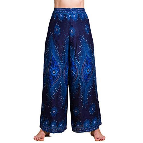 PANASIAM Sunshine Pants One I luftige Wickelhose für Damen I in diversen Farben I leichte Sommerhose - angenehm weich & sehr komfortabel I eleganter Hosenrock