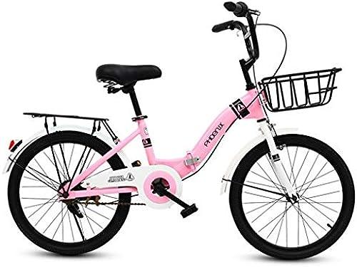 Kinderfürr r Kinder-Klapprad 16-Zoll-Student-Klapprad mädchen 6-12 Jahre Altes Rosa fürrad Mountainbike Im Freien fürrad Mit Der Stra