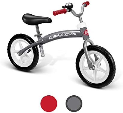 Radio Flyer Balance Bike Glide and Go Gray product image