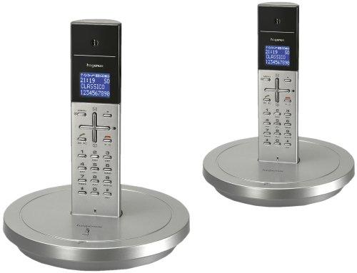 Hagenuk Classico Duo schnurloses Telefon Silber