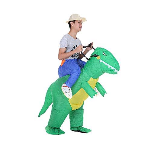 Decdeal コスプレ ハロウィン 怪獣 恐竜 インフレータブル 仮装 子供 大人 ユニセックス コスチューム