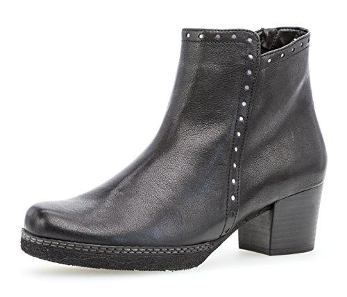 Gabor Shoes Damen Comfort Basic Stiefeletten, Schwarz (Schwarz (Micro) 27), 38.5 EU