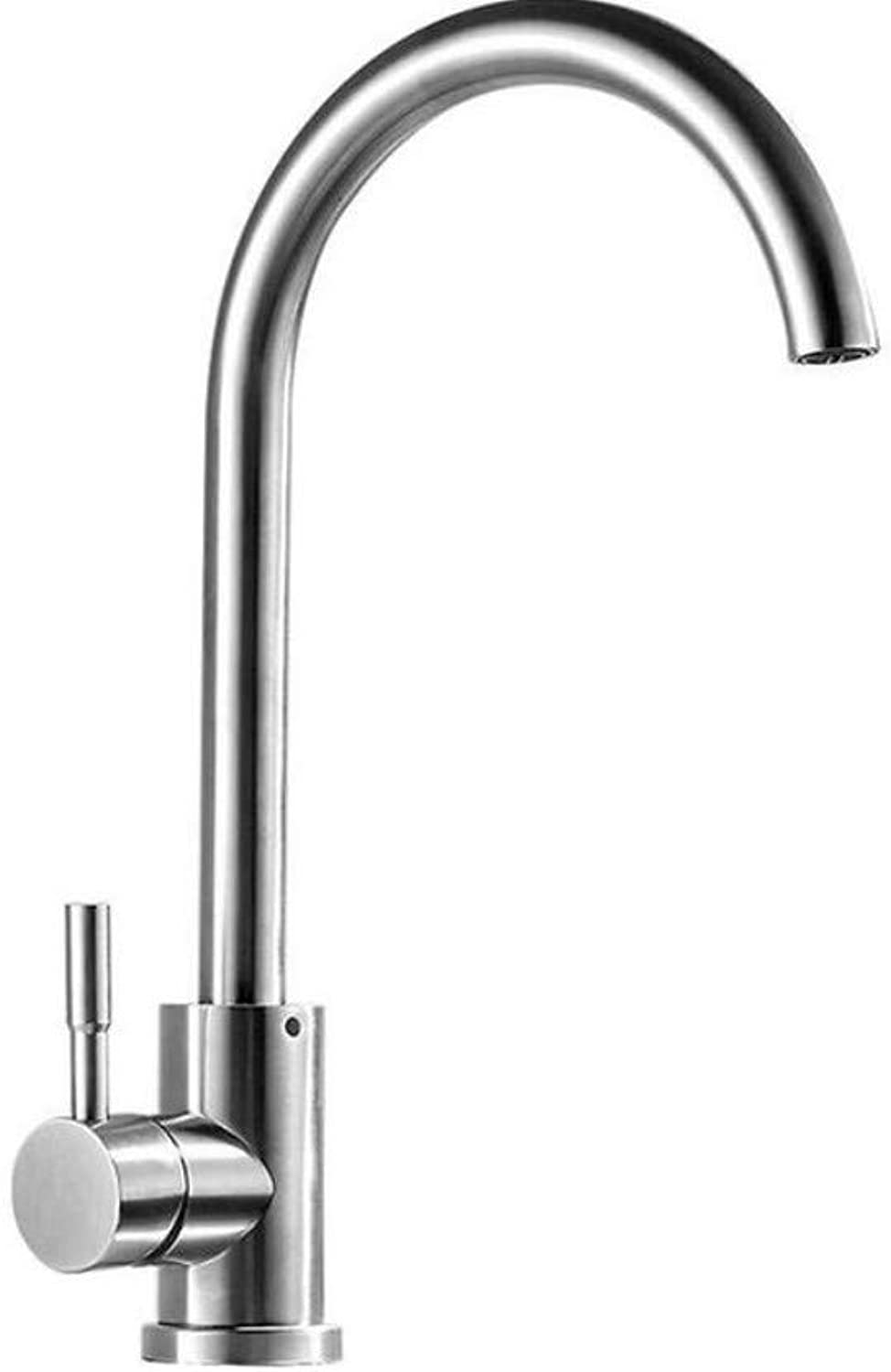 Taps Kitchen Sinkhigh Quality Total 304 Stainless Steel No Lead Kitchen Sink Faucet Sink Tap 360 Swivel Mixer Kitchen Faucet