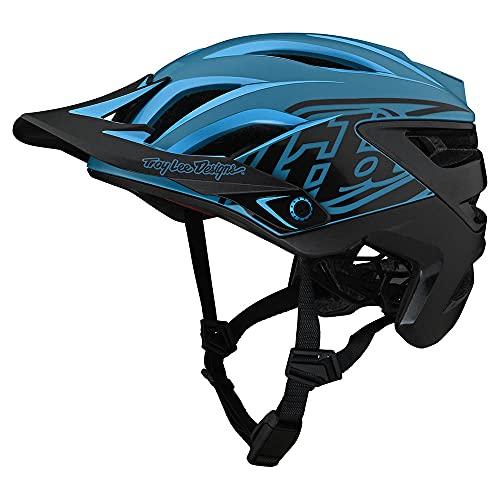 Troy Lee Designs A3 MIPS Bike Helmet - Uno Cyan Blue X-Small/Small