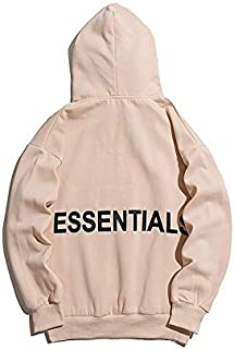 OFF white element 19 European and American trendy brand new style college style hundred match original bf tide apricot hoodie FOG male and female youth protective suit